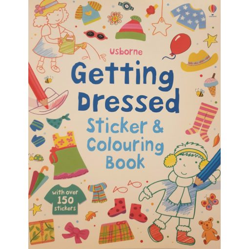 Getting dressed - Sticker & colouring book